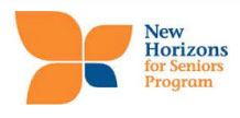 New Horizons For Seniors Programs