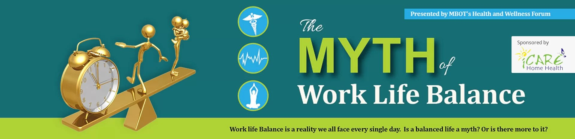 Myth of Work Life Balance