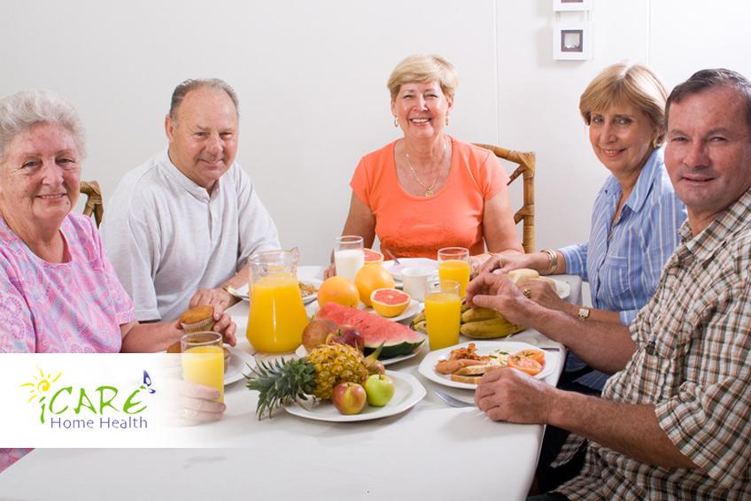 Breakfast for seniors